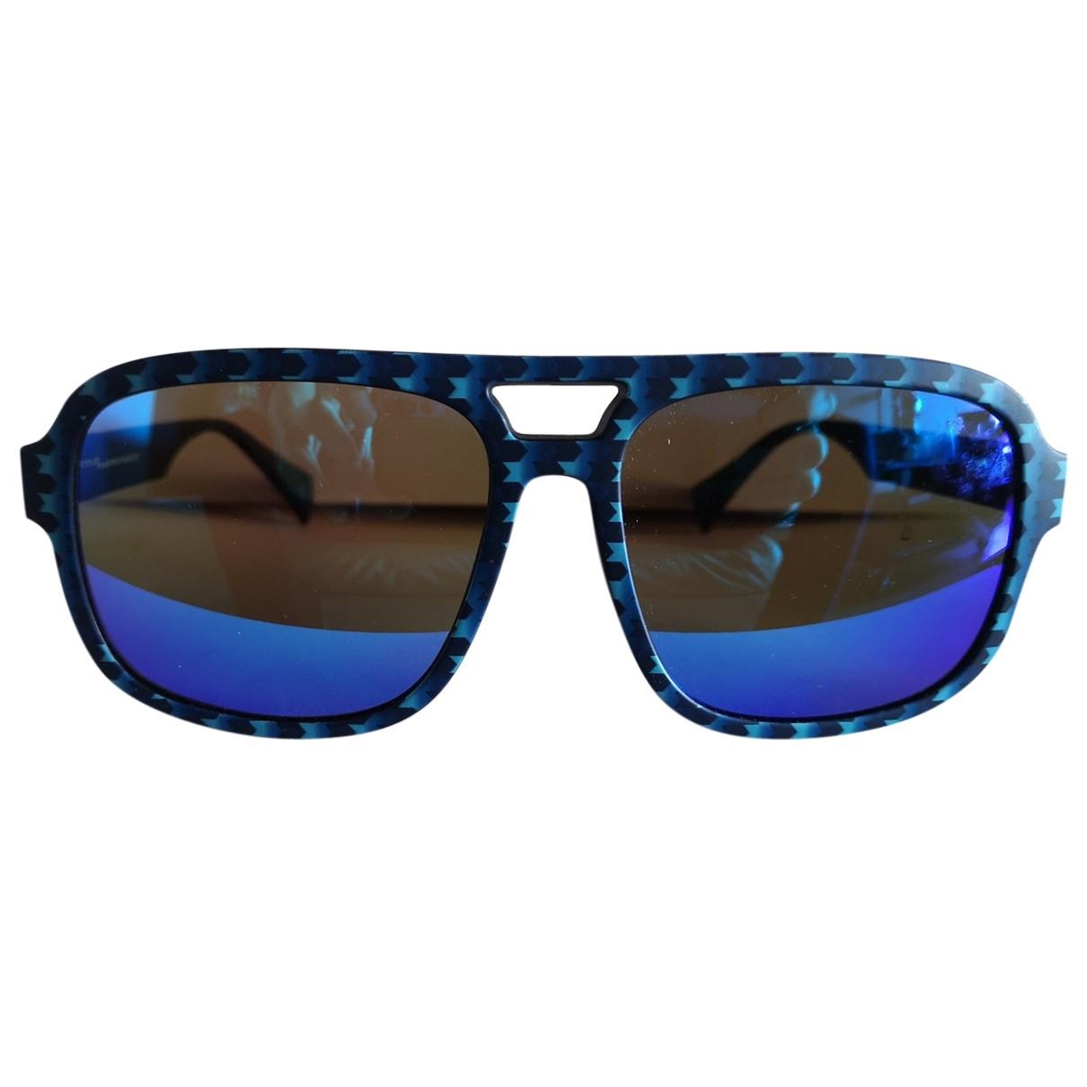Italia Independent \N Sonnenbrillen in  Blau Kunststoff
