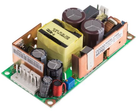 Artesyn Embedded Technologies , 60W Embedded Switch Mode Power Supply SMPS, 24V dc, Open Frame