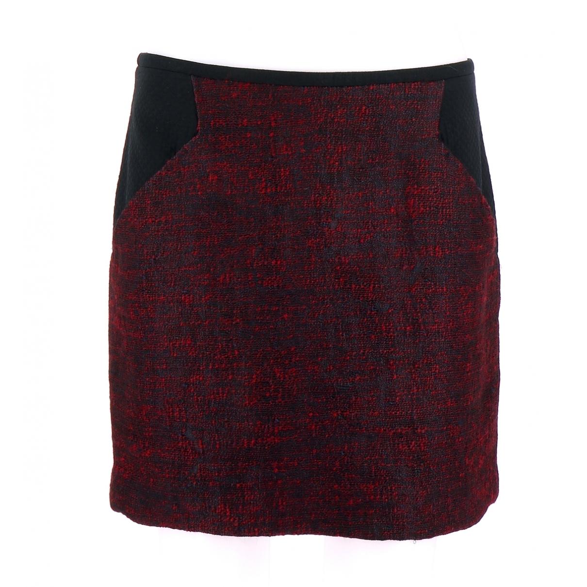 Comptoir Des Cotonniers \N Burgundy skirt for Women 40 FR