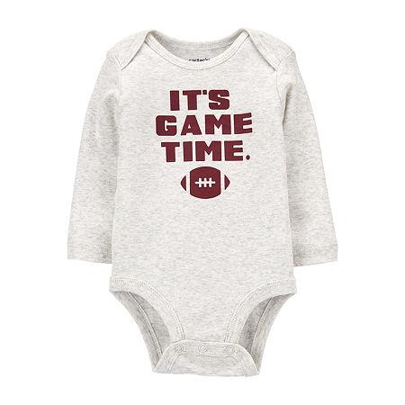 Carter's Baby Boys Bodysuit, 18 Months , Gray