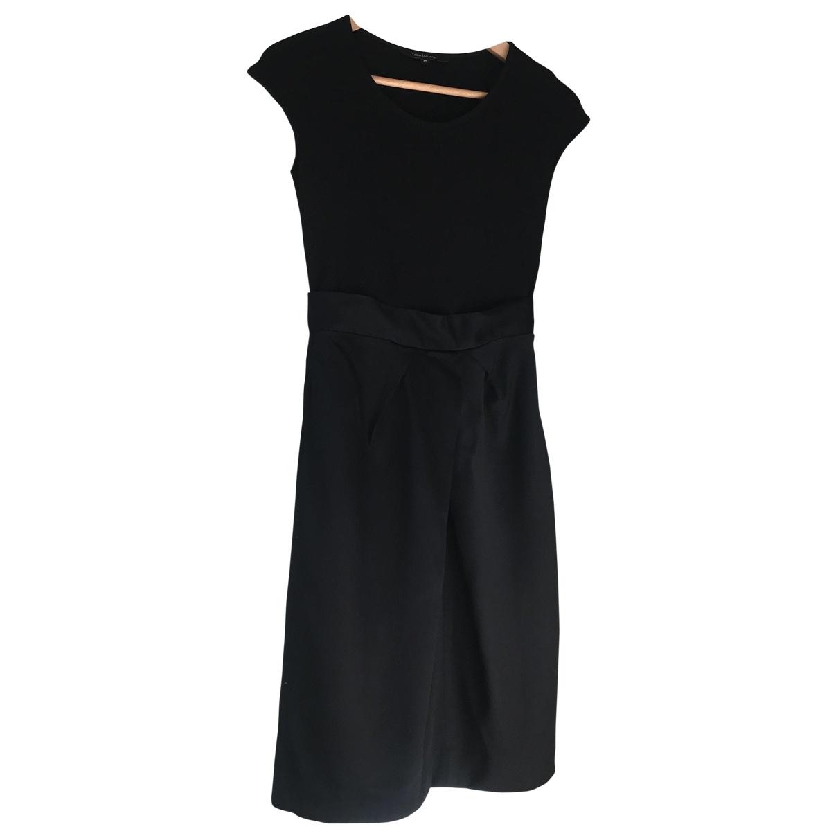 Tara Jarmon \N Black Wool dress for Women 36 FR