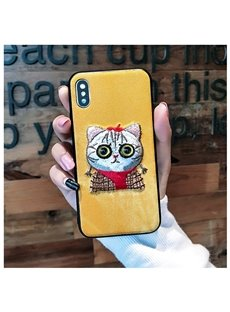 Super Cute Cat Design Protective Phone Case for iPhone