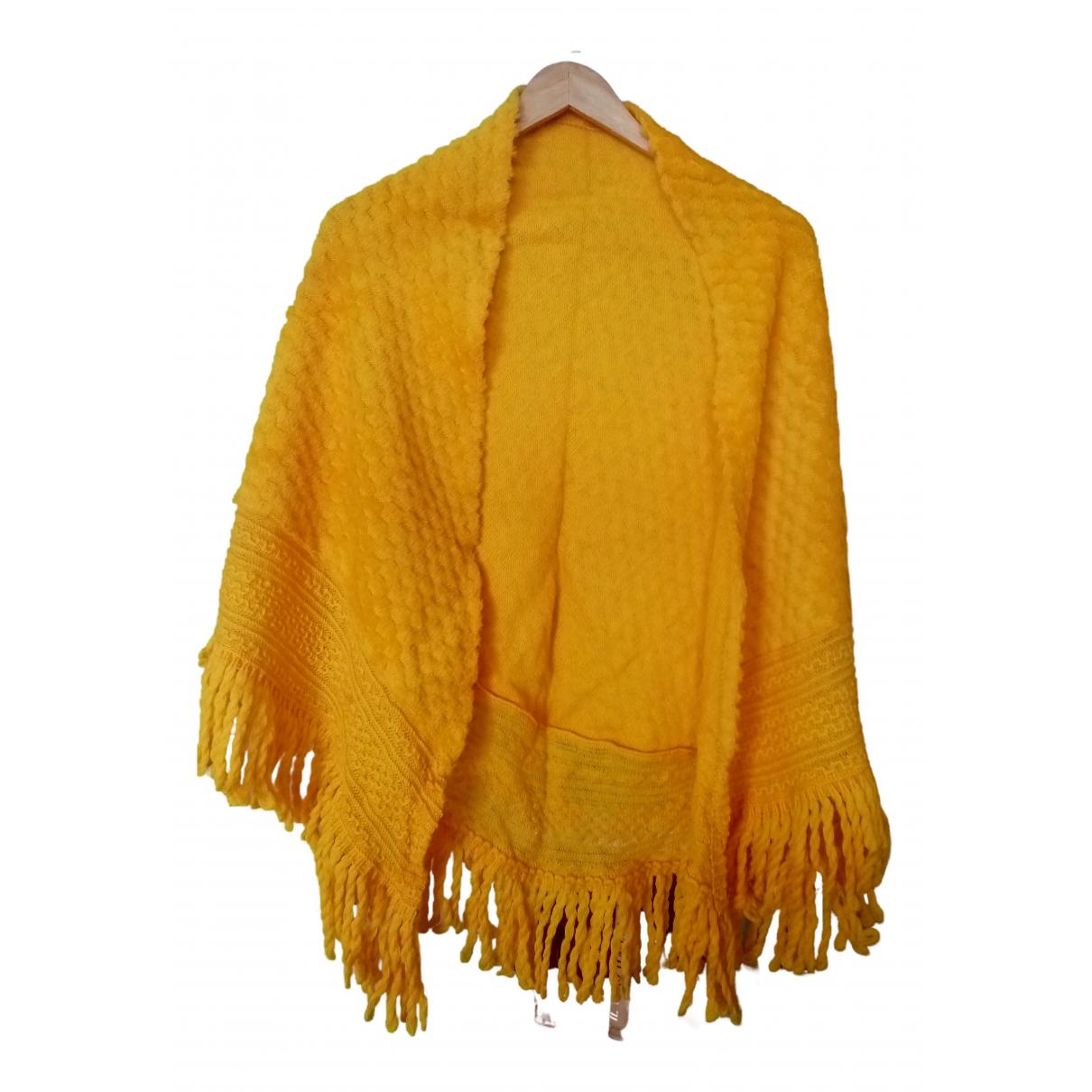 Lanvin \N Schal in  Gelb Wolle