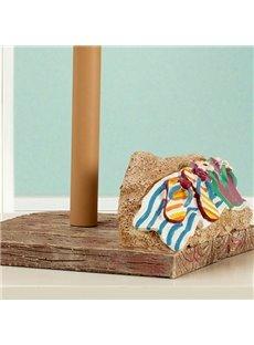 Creative Beach Sandal Image Unique Toilet Paper Holder