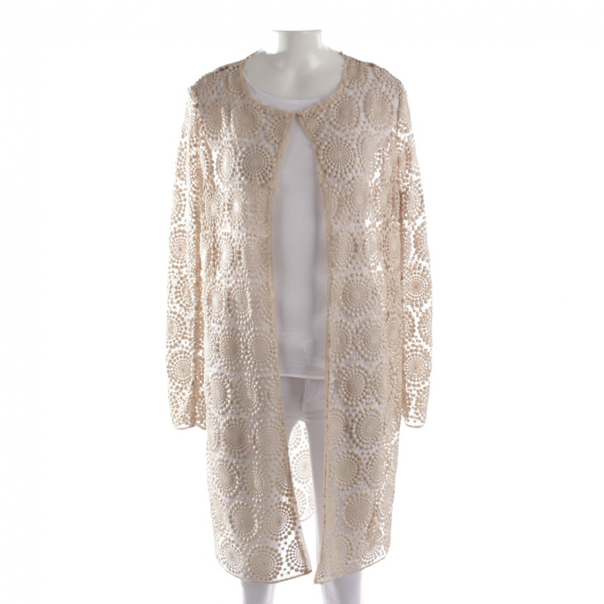 Maliparmi \N Beige jacket for Women 38 FR