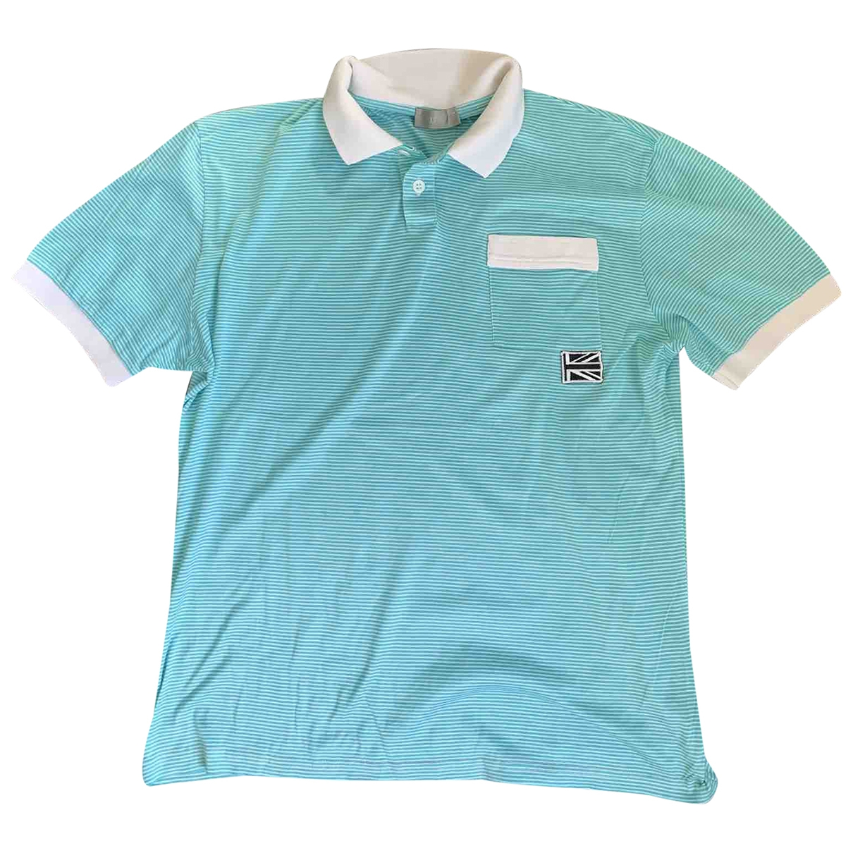 Dior Homme - Polos   pour homme - turquoise