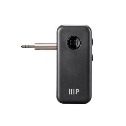 Bluetooth Receiver/Car Kit, Portable Wireless Audio Adapter 3.5mm Aux Stereo Output - Monoprice®