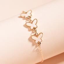 Schmetterlingskette Armband