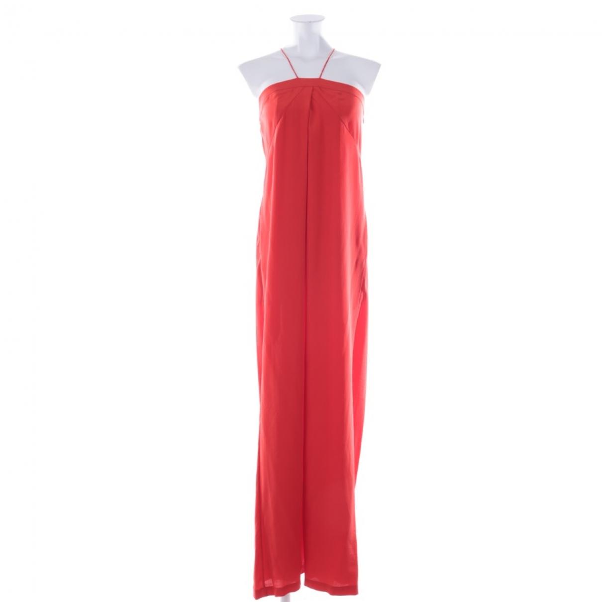 Diane Von Furstenberg \N Kleid in  Rot Seide