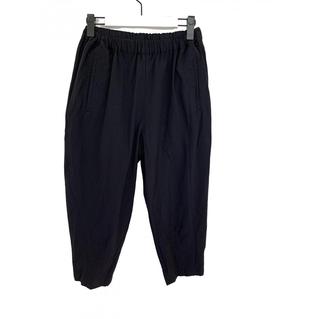Comme Des Garcons \N Black Wool Trousers for Women XS International