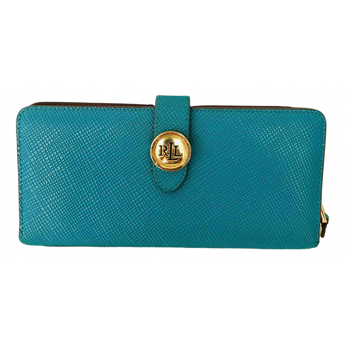Lauren Ralph Lauren N Turquoise Leather wallet for Women N