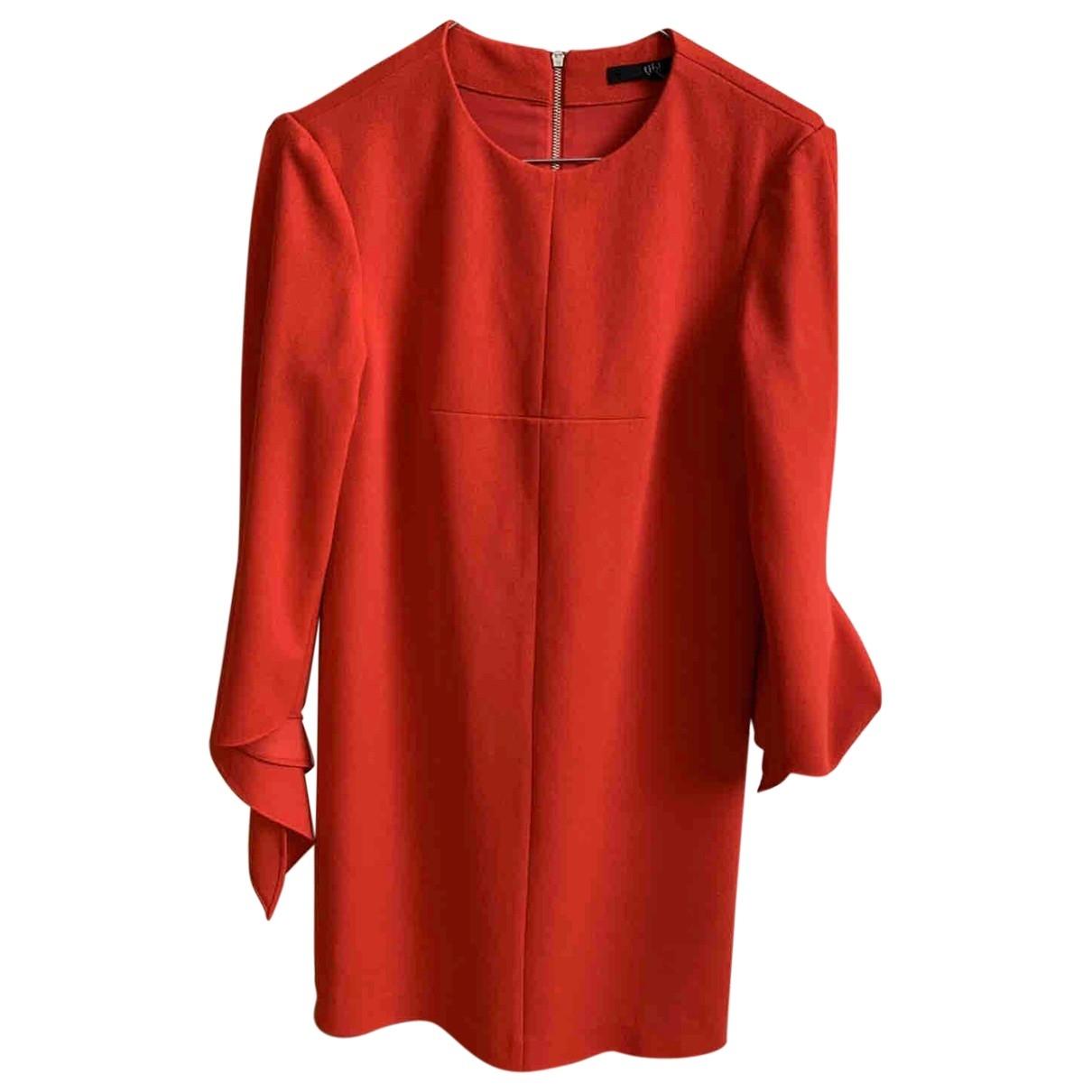 Tibi - Robe   pour femme en coton - rouge