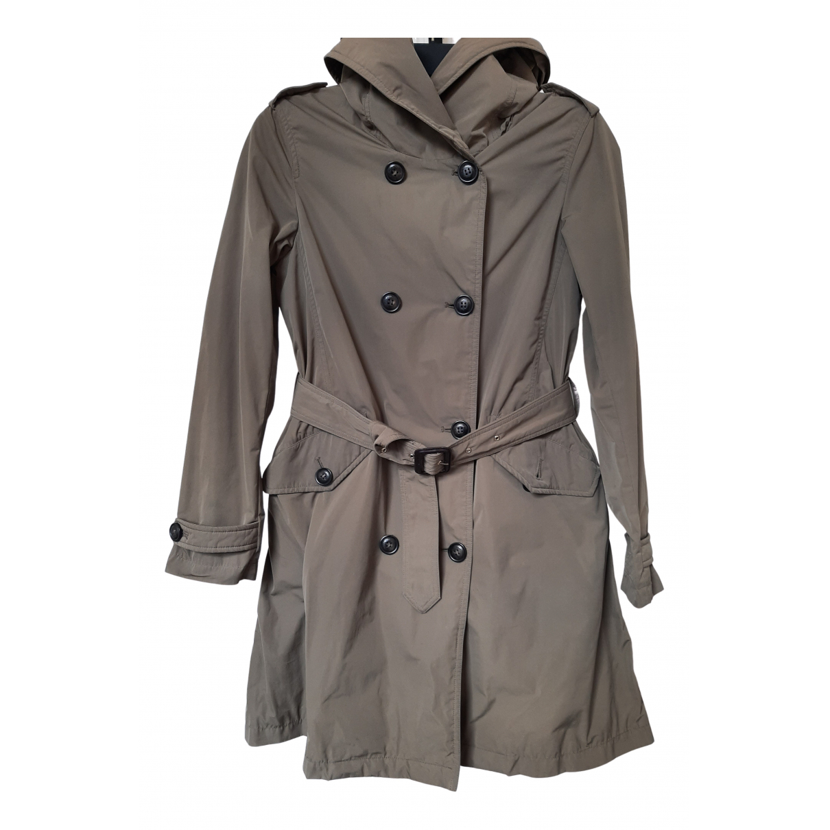 Woolrich N Cotton Trench coat for Women S International