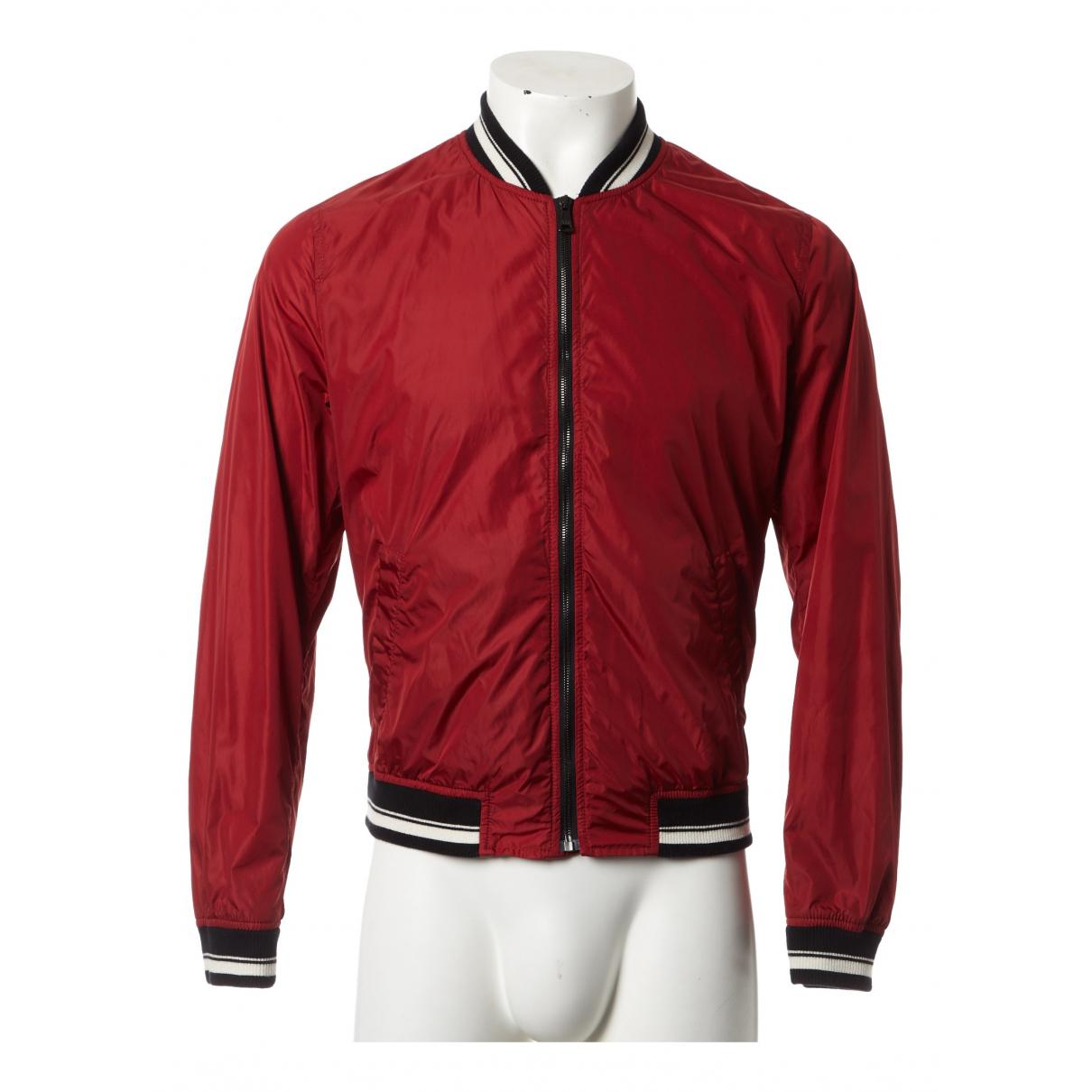 Dolce & Gabbana - Vestes.Blousons   pour homme - rouge