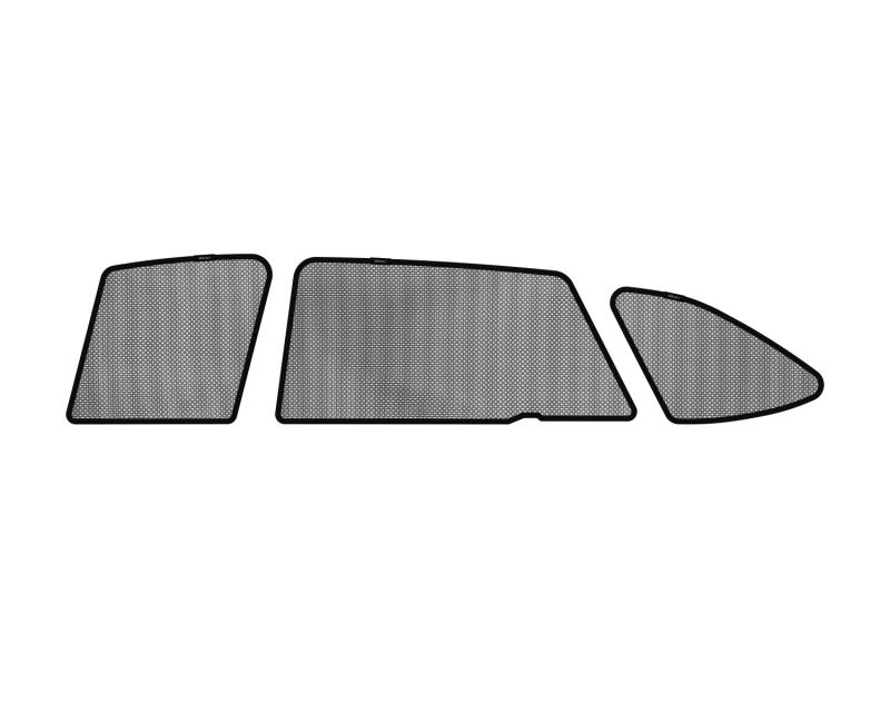 3D MAXpider 2015-2017 Subaru Outback Black Sun Shades - Side Windows