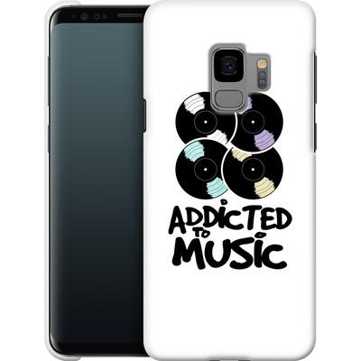 Samsung Galaxy S9 Smartphone Huelle - Addicted To Music von Claus-Peter Schops