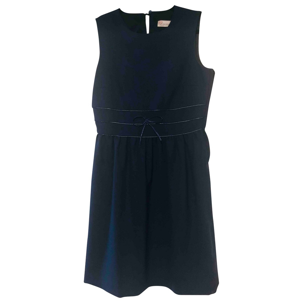 Red Valentino Garavani \N Kleid in  Blau Polyester