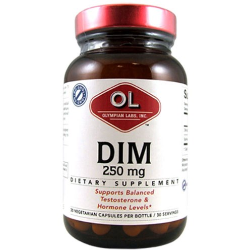 Dim (Diindolylmethane) 30 Caps by Olympian Labs