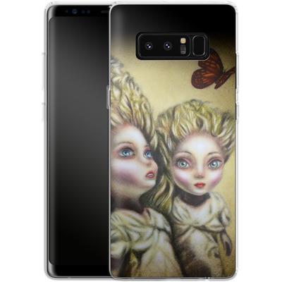 Samsung Galaxy Note 8 Silikon Handyhuelle - Two Sisters von Tiago Azevedo