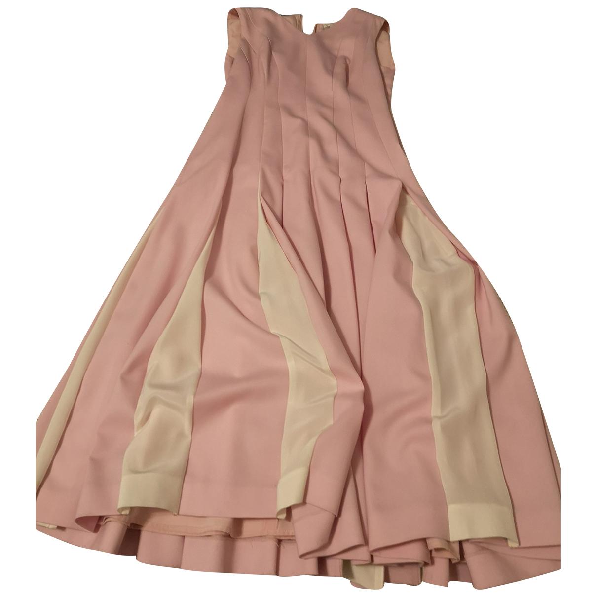 Vionnet \N Kleid in  Rosa Baumwolle
