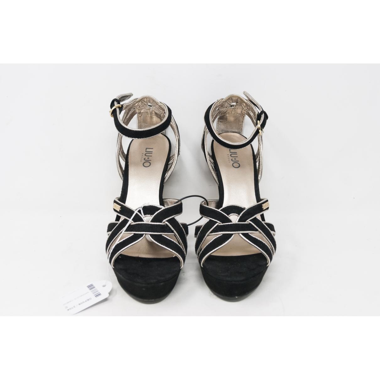 Liu.jo \N Black Leather Heels for Women 39 IT