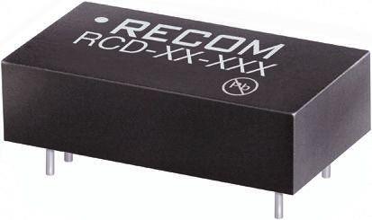 Recom RCD-24-0.35/Vref LED Driver IC, 4.5  36 V dc 0  350mA 6-Pin PCB