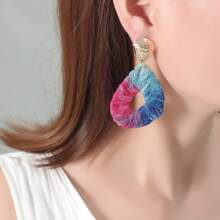 Lace Water Drop Earrings