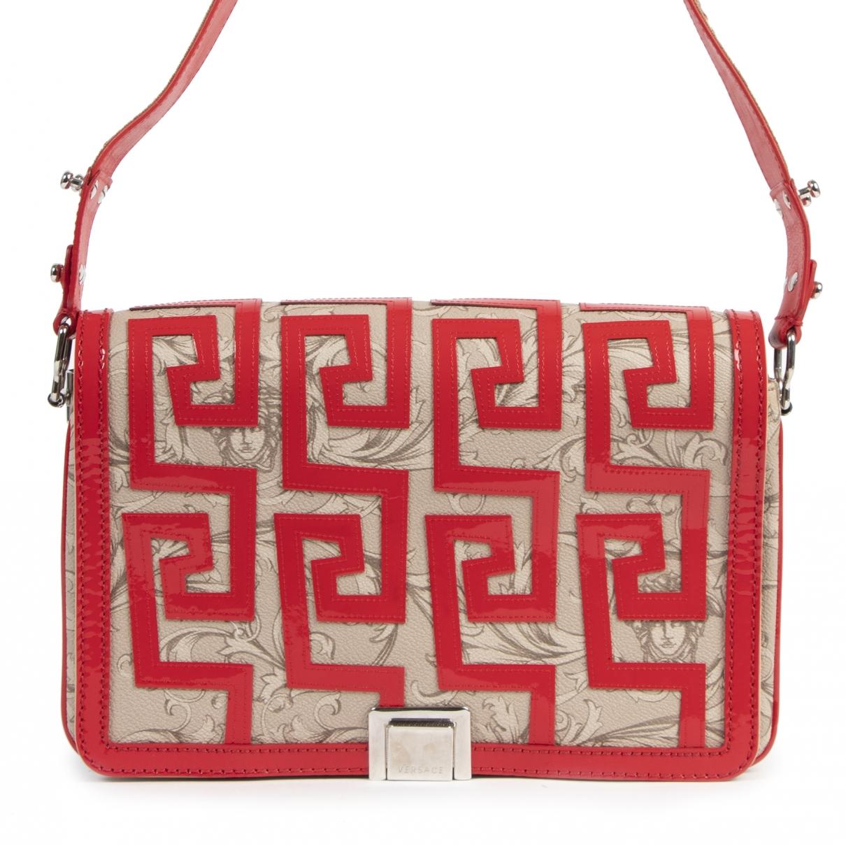 Versace \N Handtasche in  Bunt Leder