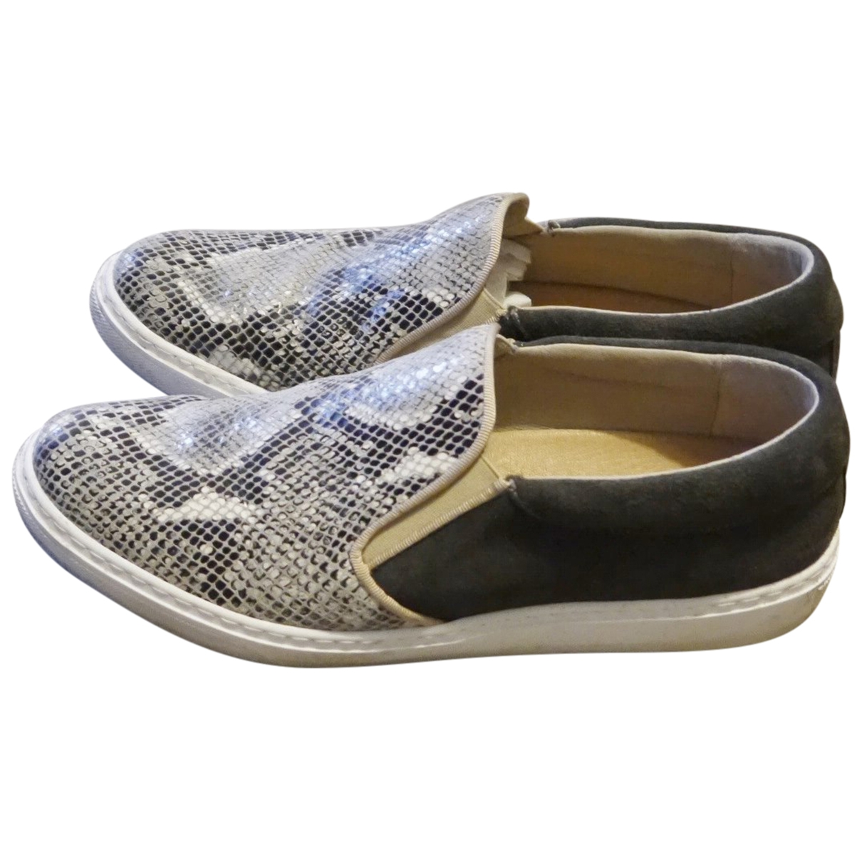 Non Signé / Unsigned \N Multicolour Leather Trainers for Women 40 EU