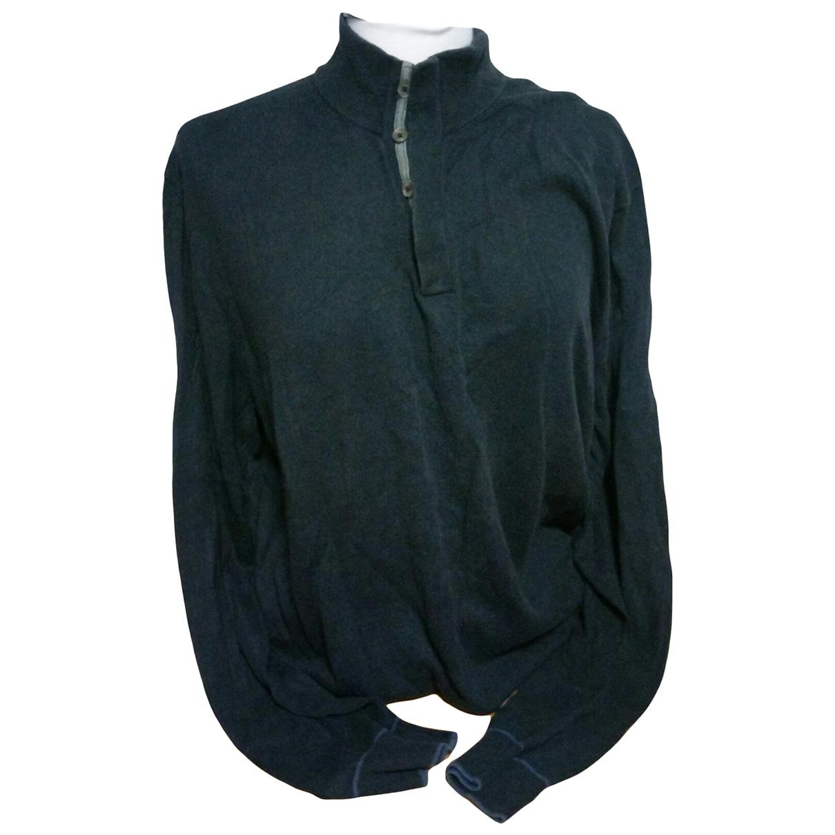 Massimo Dutti - Pulls.Gilets.Sweats   pour homme en cachemire - bleu
