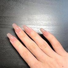 24pcs Plain Fake Nail