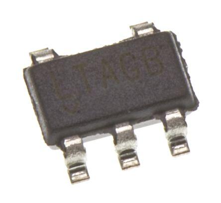 Analog Devices LTC2054CS5#TRMPBF , Op Amp, RRO, 500kHz, 3 V, 5 V, 5-Pin TSOT-23 (5)