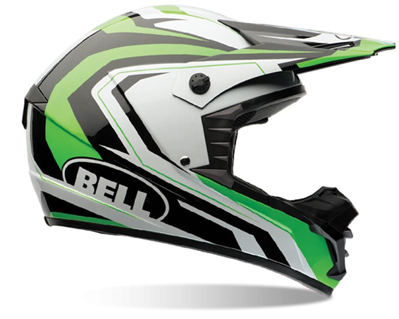 Bell Racing 7061263 SX-1 Storm Green Helmet SM | 55-56