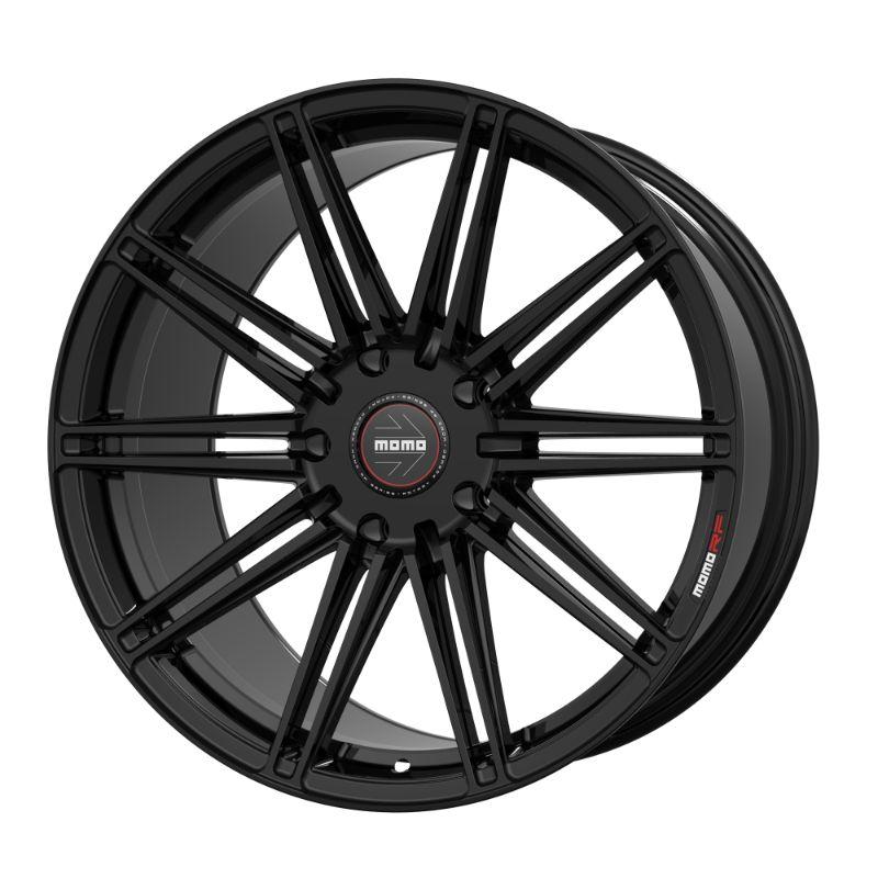 MOMO 1SS909035AB1 RF-10S Series Wheels 19x9 Semi 5x114.3 +35 Gloss Black