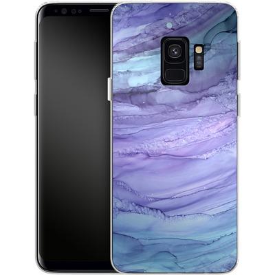 Samsung Galaxy S9 Silikon Handyhuelle - Mermaid Marble von Becky Starsmore