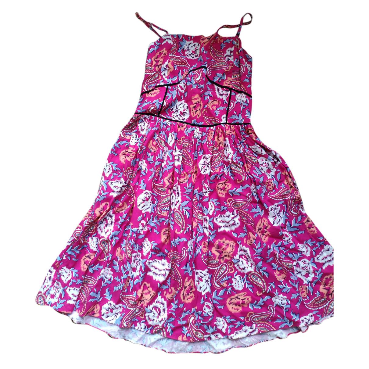 Les Petites \N Kleid in  Rosa Baumwolle