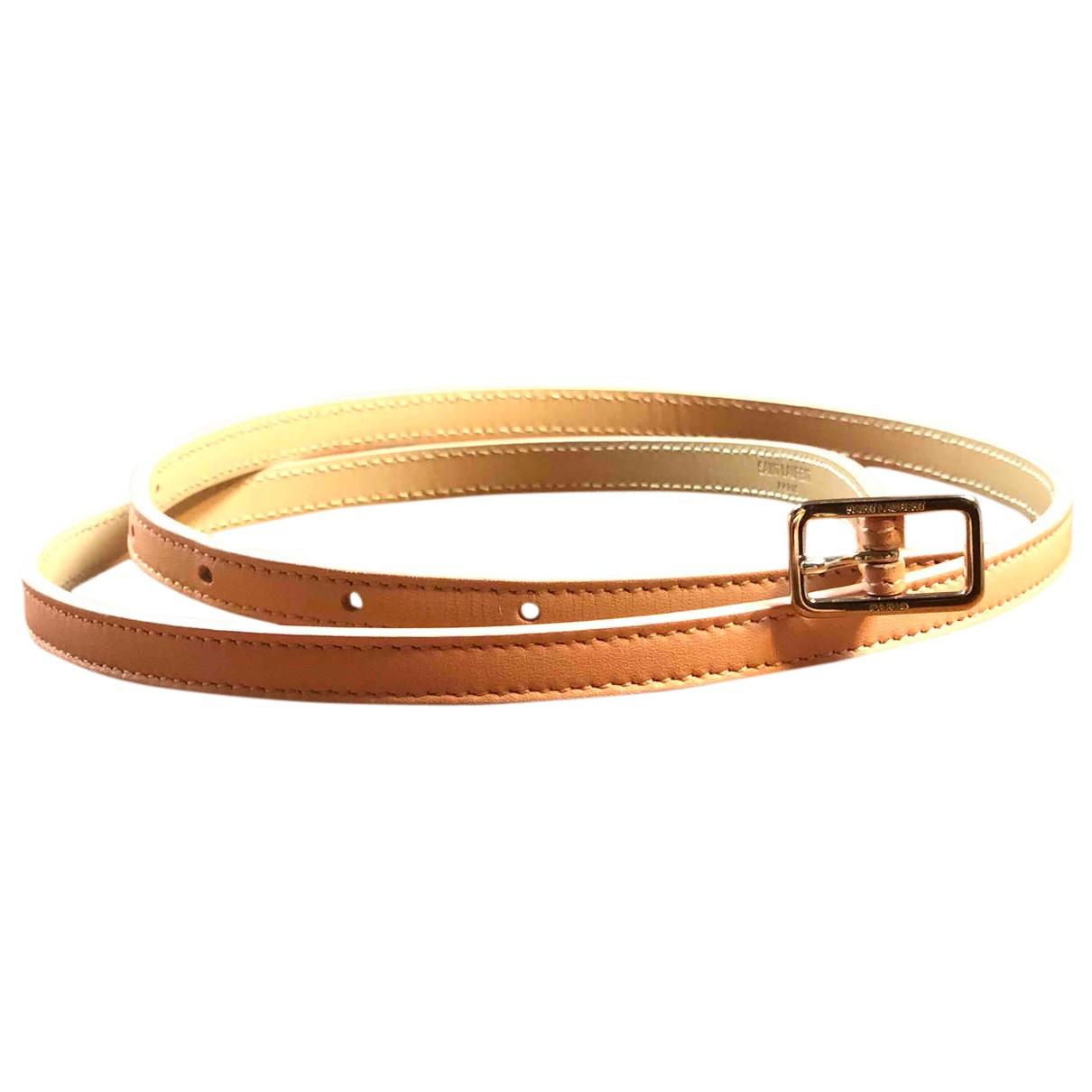 Cinturon de Cuero Saint Laurent