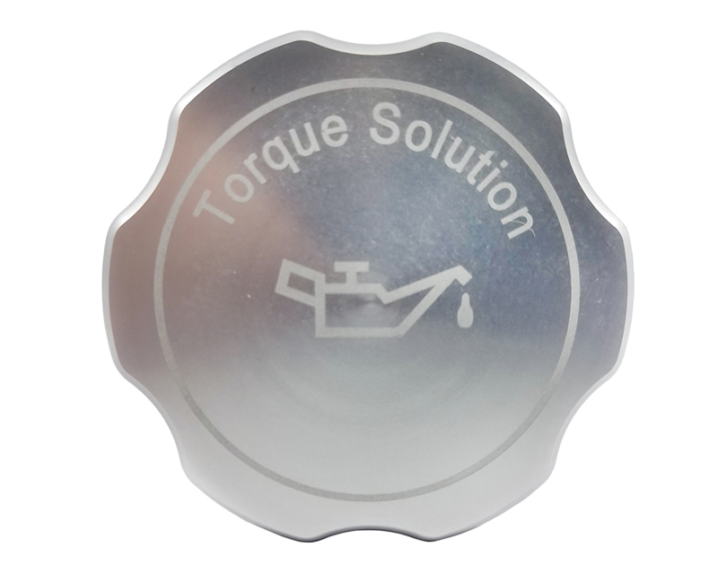 Torque Solution Silver Billet Aluminum Oil Cap Subaru WRX 02-17