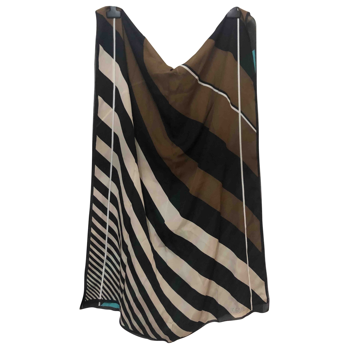 Fendi - Foulard   pour femme en soie - multicolore