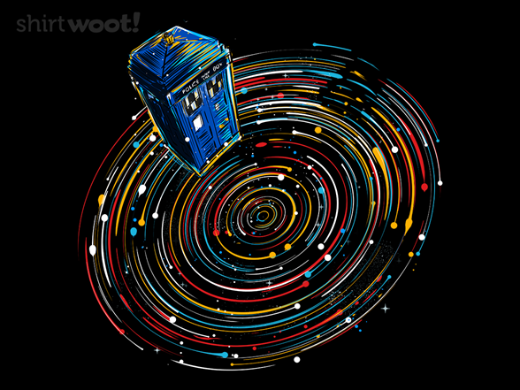 Explore Time And Space T Shirt