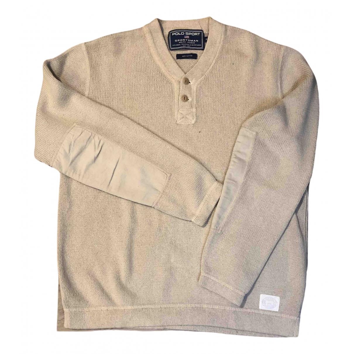 Polo Ralph Lauren - Pulls.Gilets.Sweats   pour homme en laine - camel