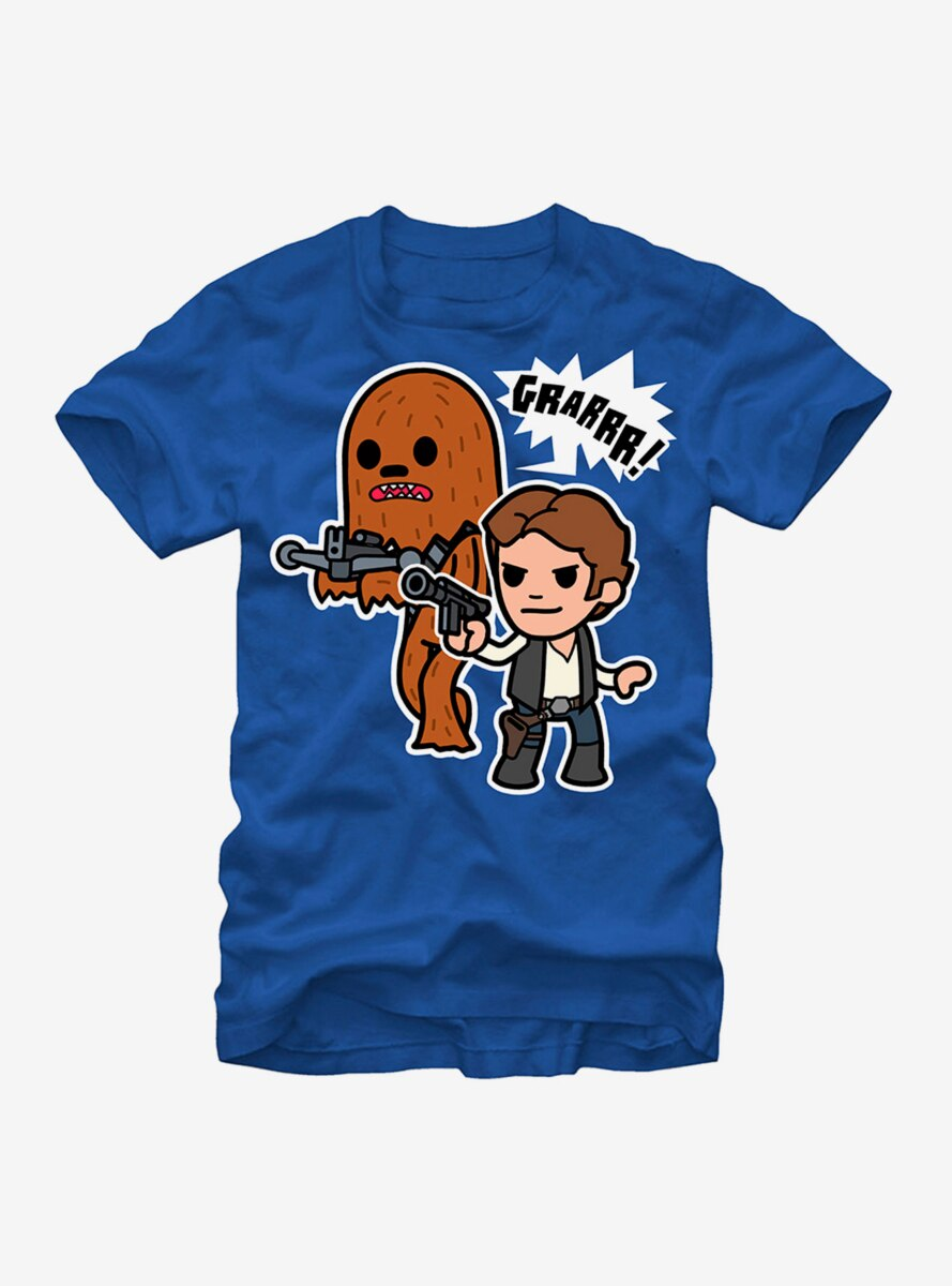 Star Wars Han Solo and Chewbacca T-Shirt