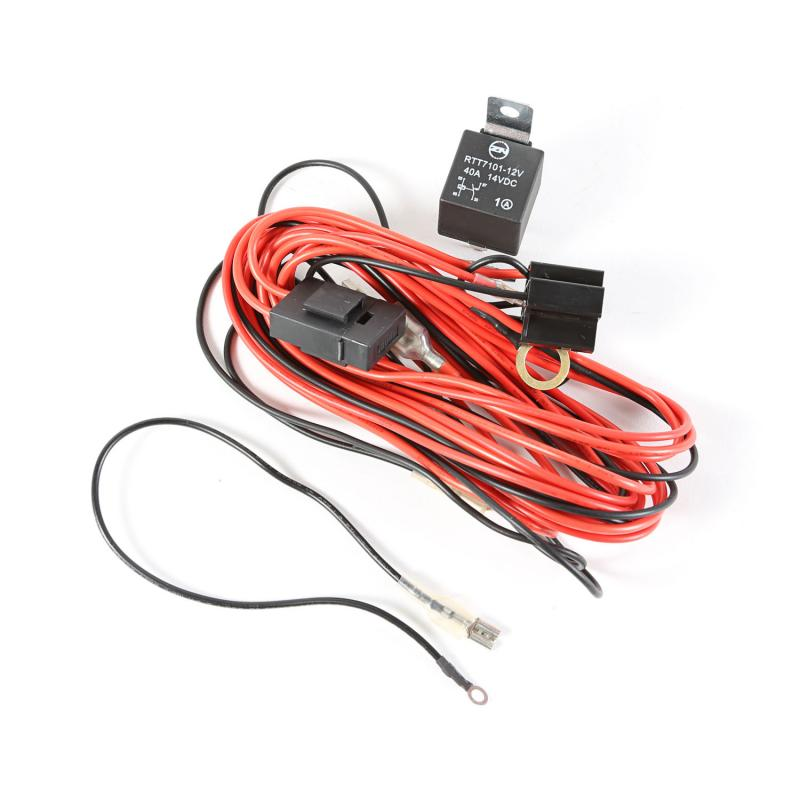 Rugged Ridge 15210.7 Light Installation Wiring Harness, 2 Lights