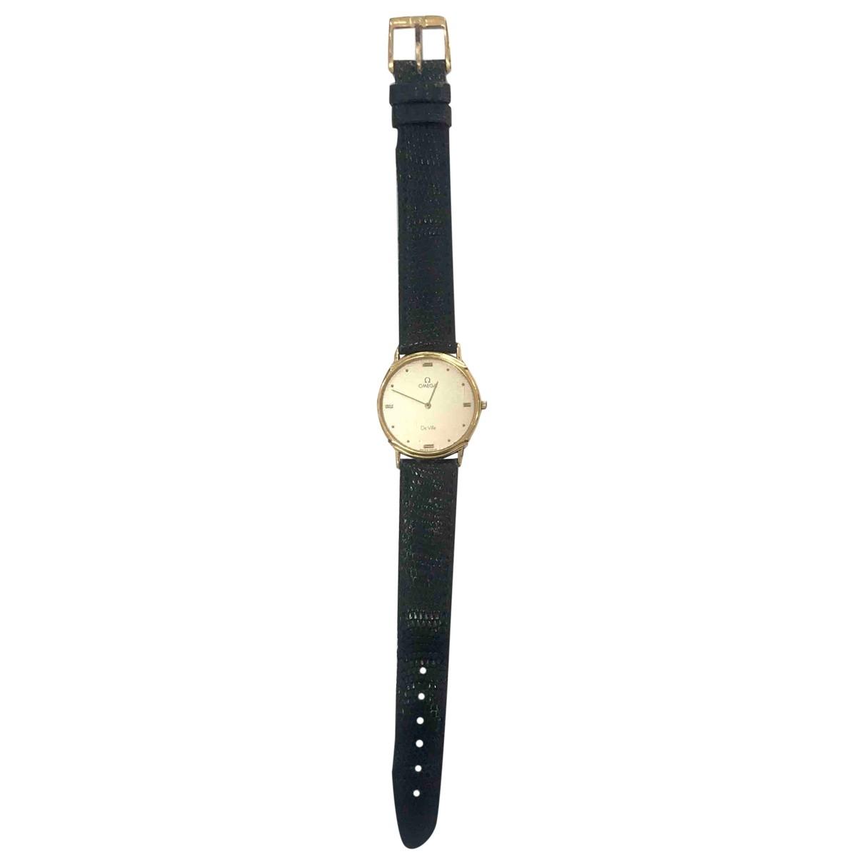 Omega De Ville  Uhr in  Gold Vergoldet