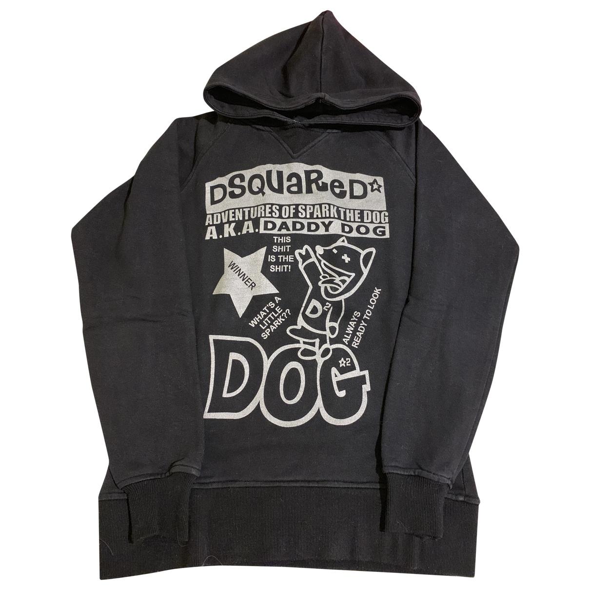 Dsquared2 \N Black Cotton Knitwear & Sweatshirts for Men M International