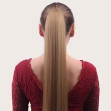 Natural Long Straight Ponytail Wig