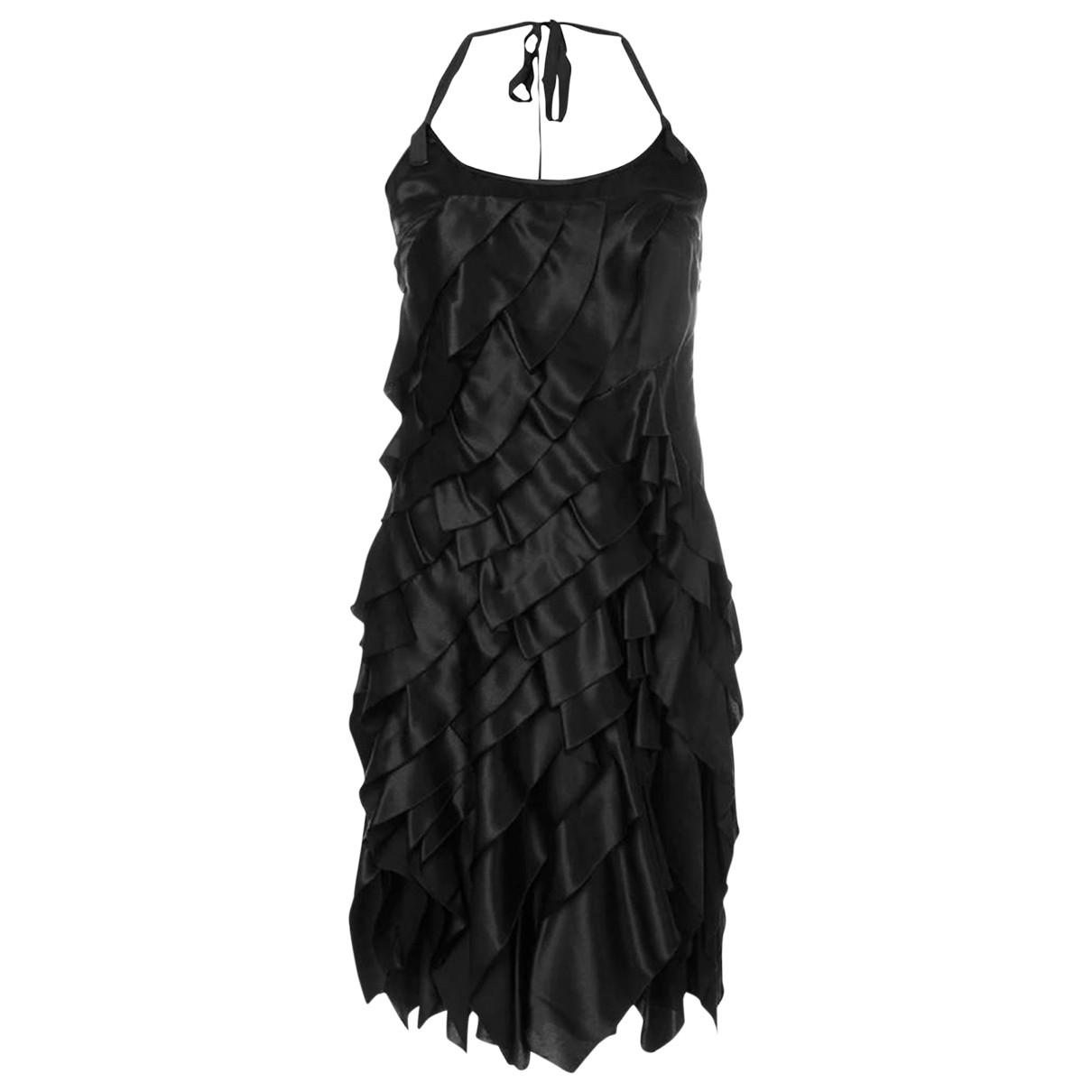 Prada \N Black Silk dress for Women 40 IT