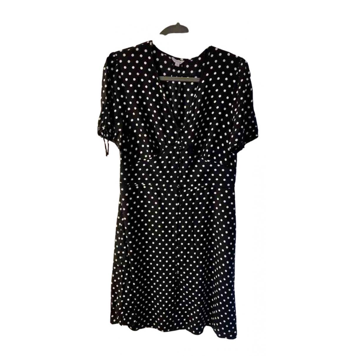 Jigsaw \N Kleid in  Schwarz Viskose