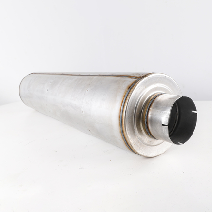Power Products M5510V - Muffler, Volvo Special (Indent For Brkt)