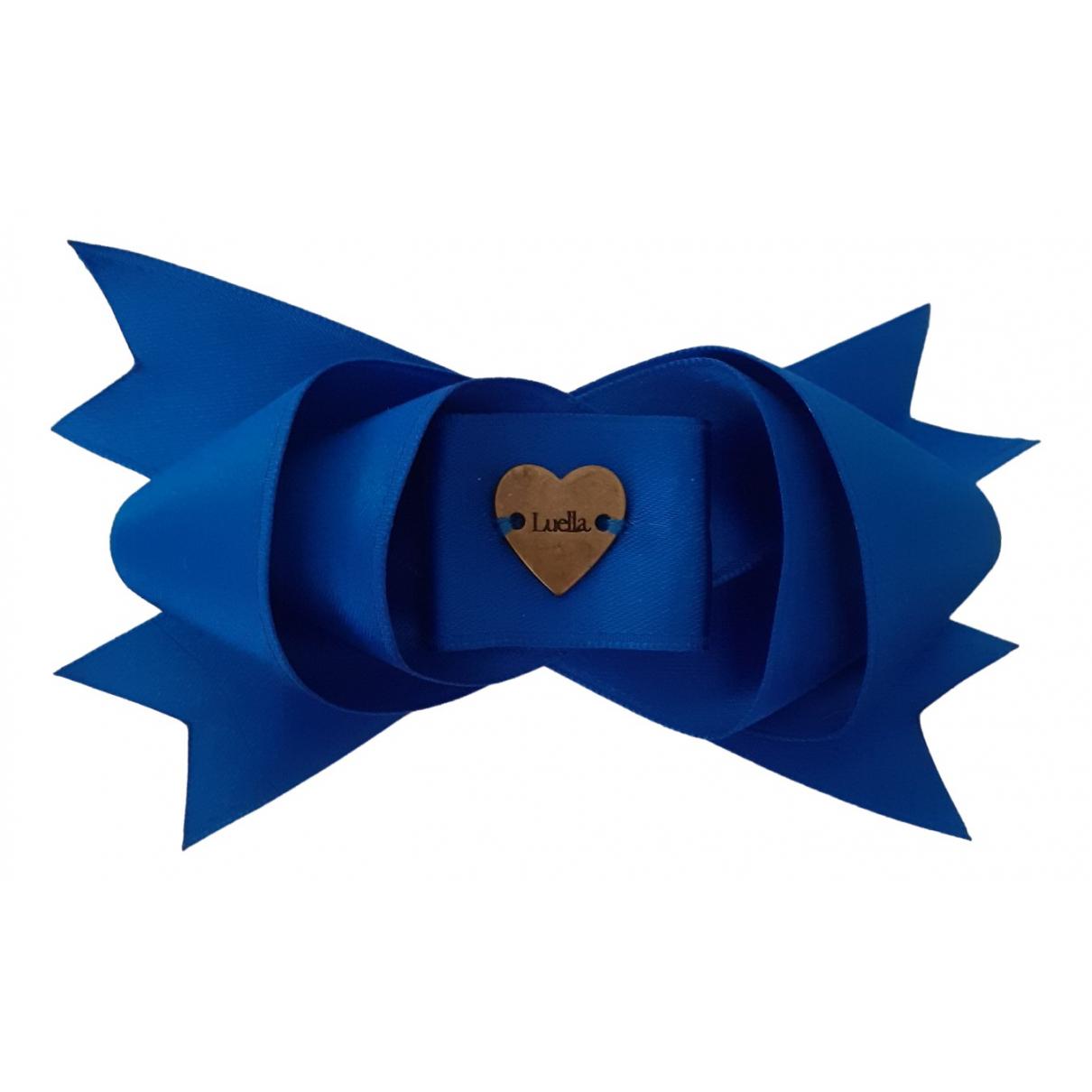 Luella \N Haarschmuck in  Blau Leinen